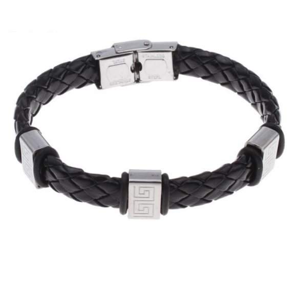 Ancient Warrior Leather Bracelet - Clarissa Maxwell
