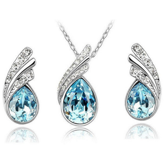 Angel Necklace and Earring Set - Clarissa Maxwell