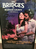 "THE BRIDGES OF MADISON COUNTY""-KELLI O'HARA - STEVE PASQUALE - CAST SIGNED - Clarissa Maxwell"