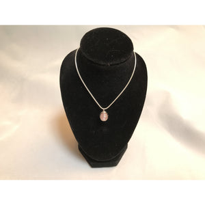 Cancer Awareness Pink Necklace - Clarissa Maxwell