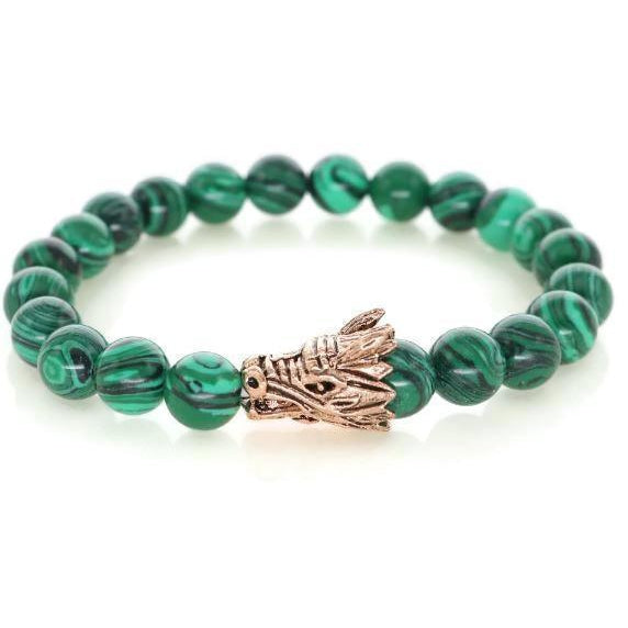 Dragon R Collection - Green Malachite - Clarissa Maxwell