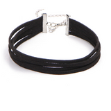 Four Layer Choker - Black - Clarissa Maxwell