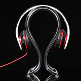 Headphone Stand - Acrylic Clear - Clarissa Maxwell