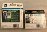 2 PK HP 27 28 Ink Cartridges for Deskjet 3840 OfficeJet 5608 PSC 1311 1315xi - Expired - Clarissa Maxwell
