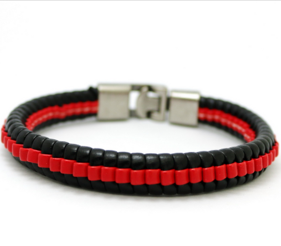 Intensity bracelet - Red - Clarissa Maxwell