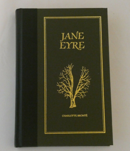 Charlotte Bronte Book Jane Eyre - 1984 Readers Digest Ed, Hardcover - Clarissa Maxwell