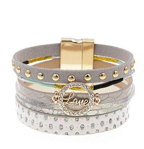 Love Layered Bracelet - Clarissa Maxwell