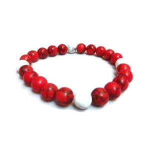 Red Distance Bracelet 1:1 Collection - Clarissa Maxwell