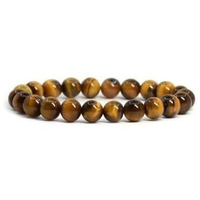 Simple Collection - Tiger Eye Beaded Bracelet - Clarissa Maxwell
