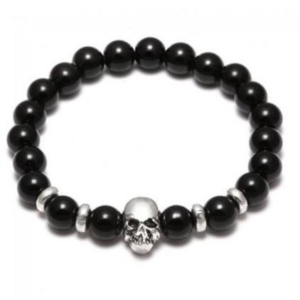 Skull 4 Edition - Agate beads - Clarissa Maxwell
