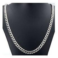 Stainless Steel Necklace  - 24 inch - Clarissa Maxwell