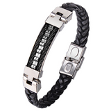 Step Up Leather Bracelet - Clarissa Maxwell