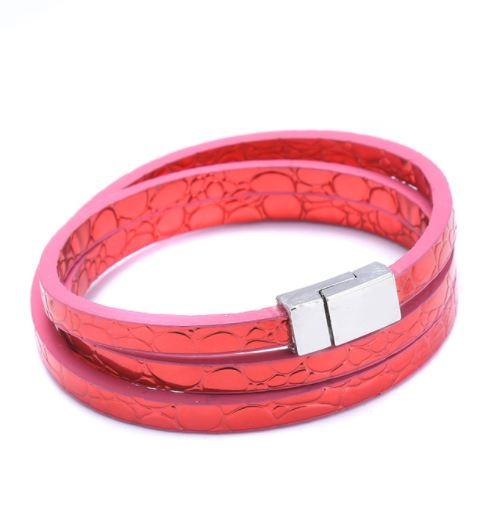Summer time  bracelet - Red - Clarissa Maxwell