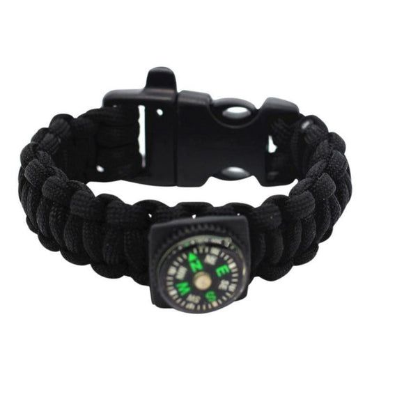 Survival Paracord 2.0 - Black 3-in-1 - Clarissa Maxwell