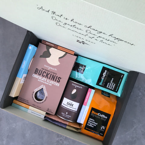 Coffee and Chocolate Ethical Gift Hamper - Everybody Loves Hampers