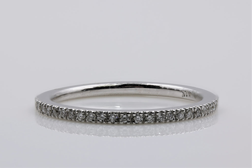 DIAMOND RING 14K WHITE GOLD