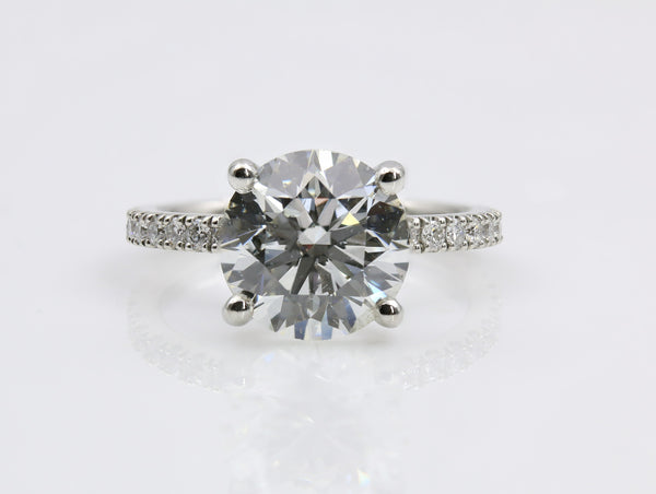 DIAMOND ENGAGEMENT RING PLATINUM