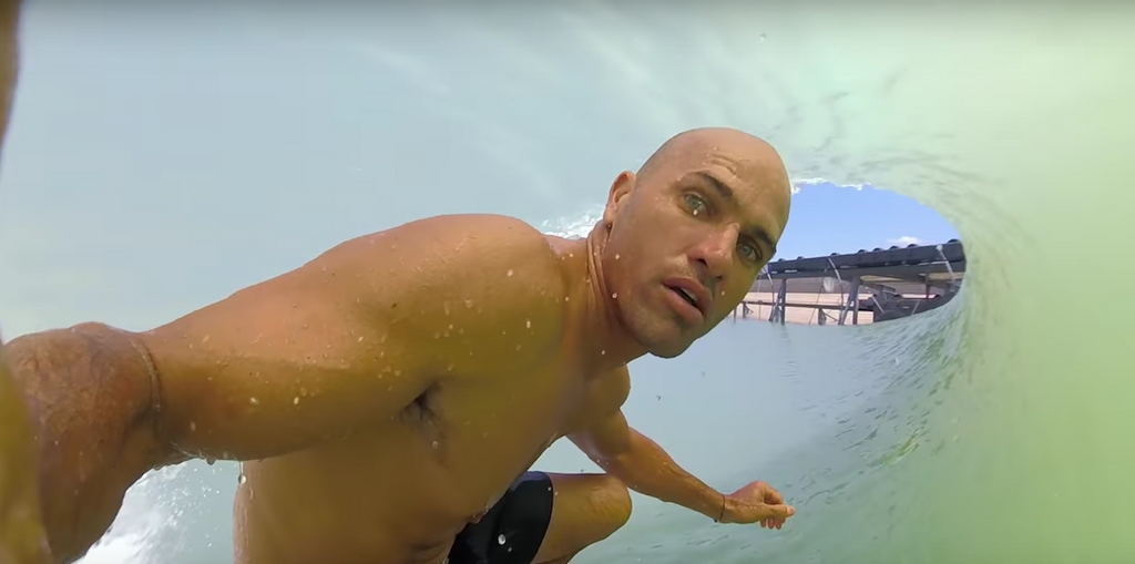 Fantasy Island Wave Pool Barrels With Kelly Slater & GoPro