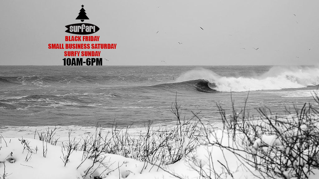 Black (Frothy) Friday, Small Biz Saturday & Surfy Sunday Sale