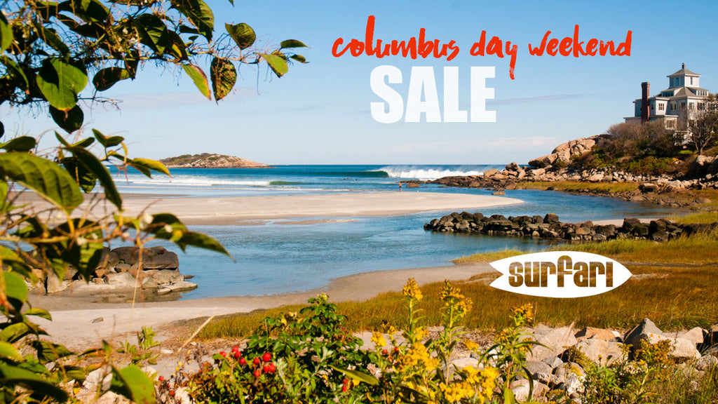 Columbus Day Weekend Sale October 6th-8th