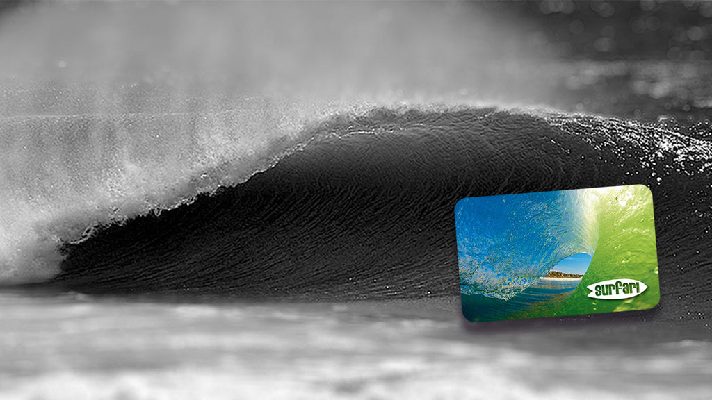 Give the Surfari Gift Card this Christmas