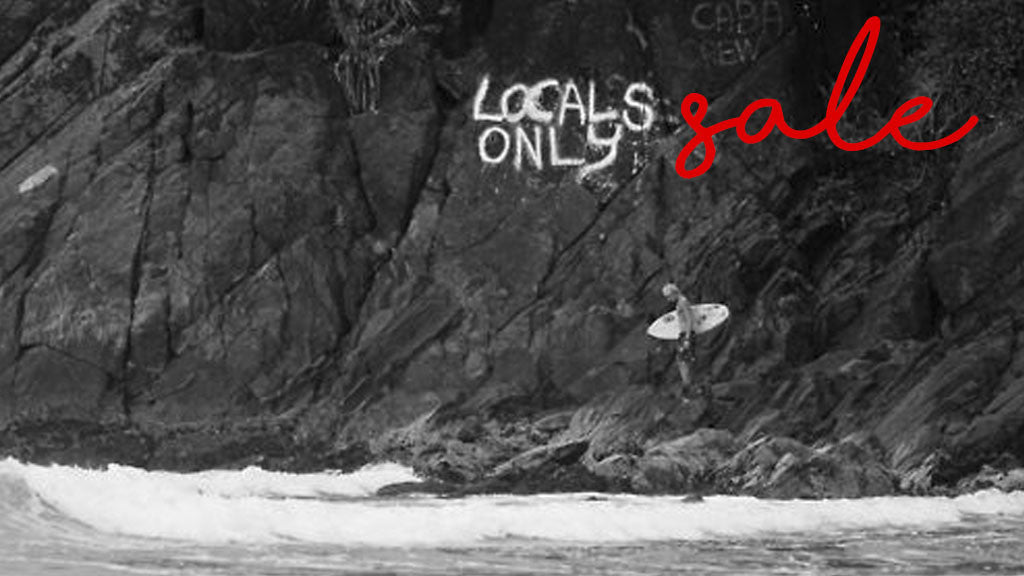 Surfari Locals Only Sale