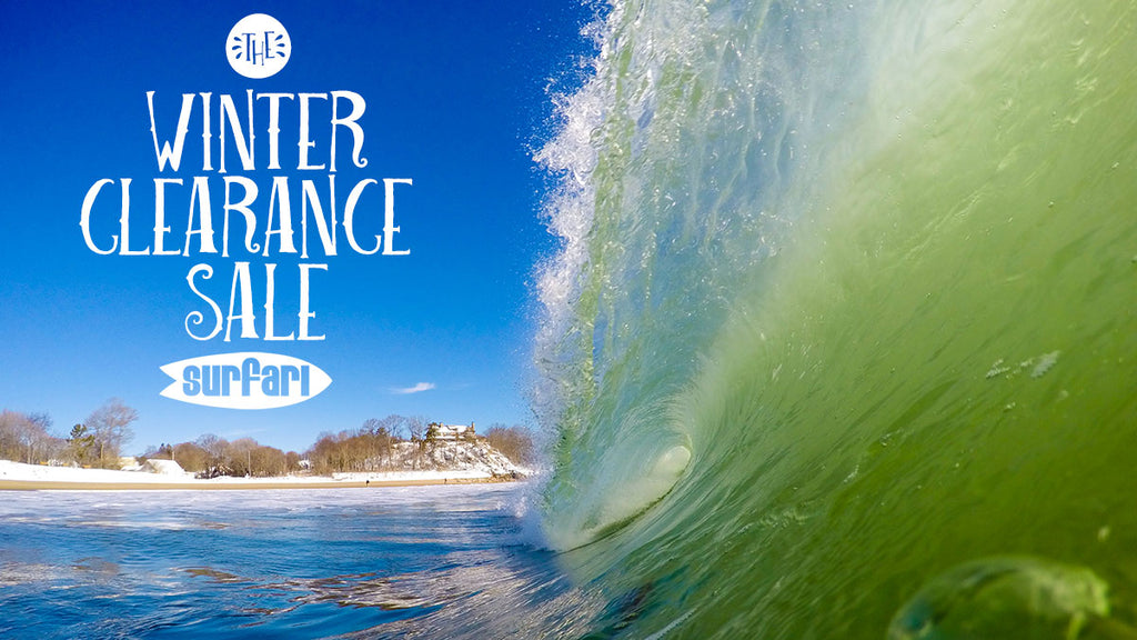 SURFARI WINTER CLEARANCE SALE