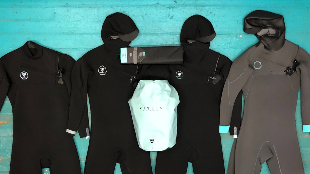 Free Vissla Dry Bag When You Buy A Vissla Winter Wetsuit