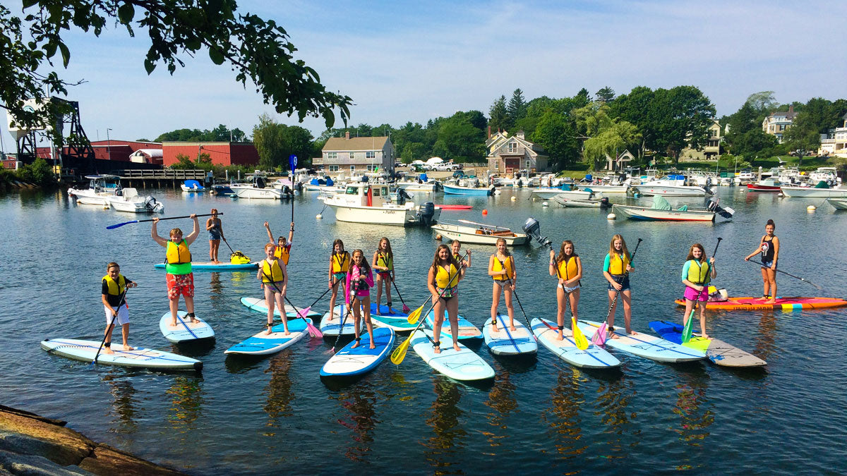Kids Summer SUP Programs Manchester Cape Ann