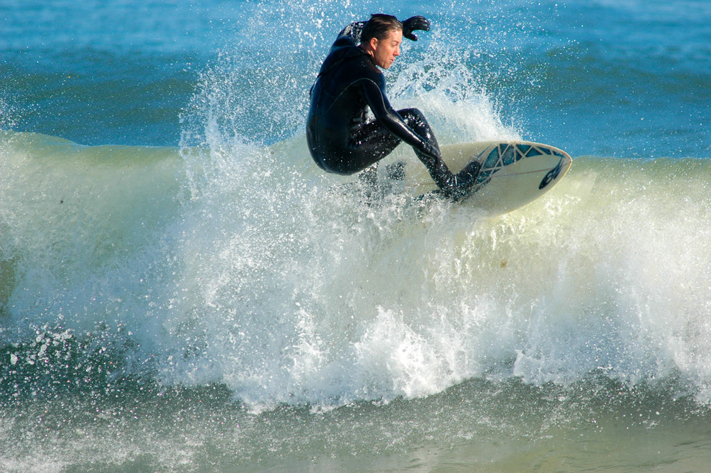 Bill Bartleman surfing Cisco Beach Nantucket