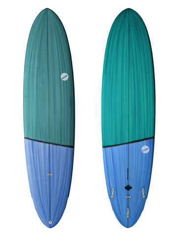 "6'10"" NSP PU Dreamrider Surf Blue"