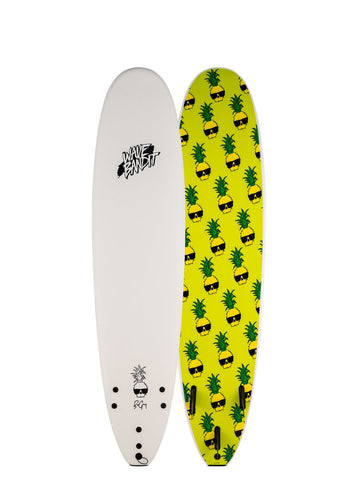 "8'0"" Wave Bandit Easy Rider X Ben Gravy Softboard White"