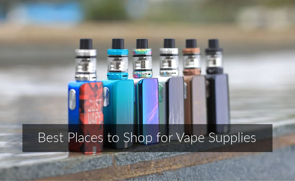 Where to Buy Vape Devices and Supplies