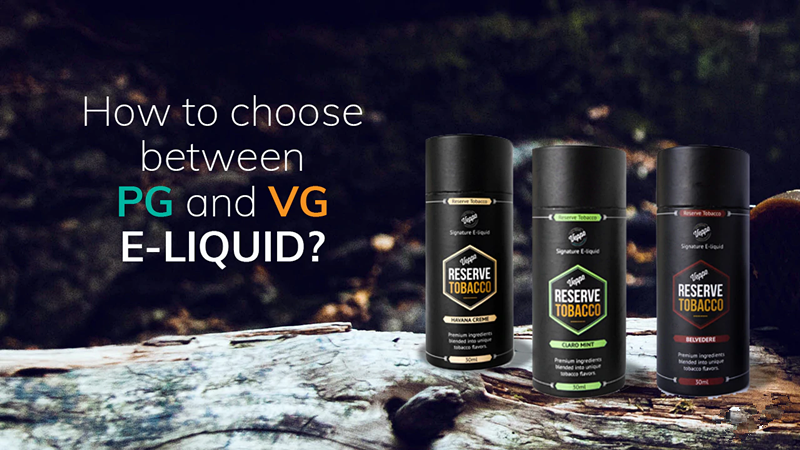 How to choose between PG vs VG e-liquid?