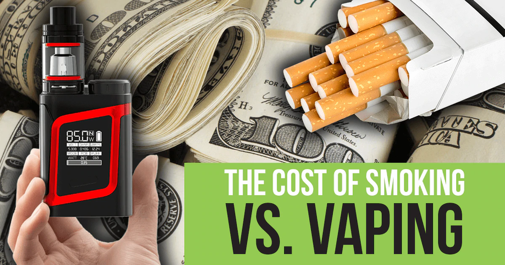 The Cost of Smoking Versus Vaping