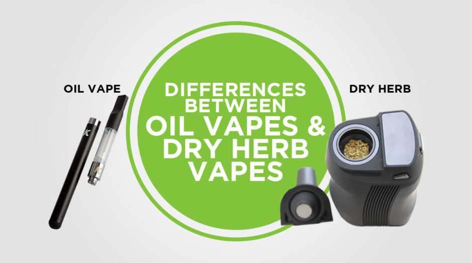 Differences Between Oil Vapes and Dry Herb Vapes