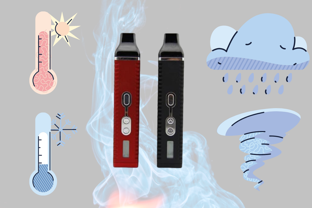 CAN WEATHER AFFECT MY VAPING EXPERIENCE