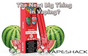 Are Disposable Vapes the Next Big Thing in Vaping?