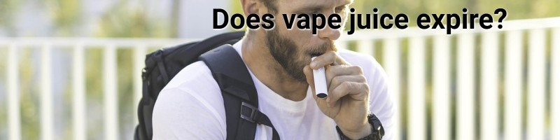 Does vape juice expire?