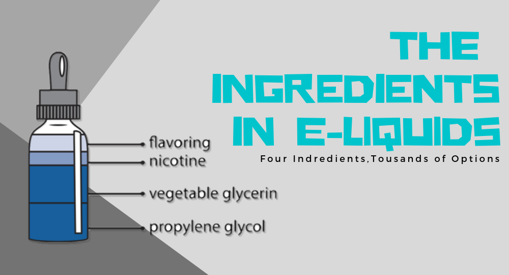 The Ingredients in E-liquids
