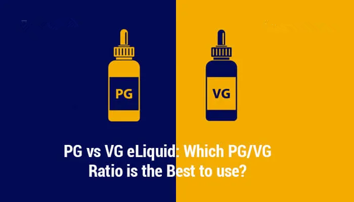 PG vs VG eLiquid: Which PG/VG Ratio is the Best to Use?