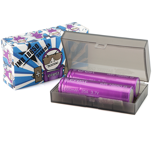 Efest IMR 35A 18650 Flat Top Battery 3000 mAh - cometovape