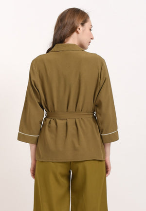 Fairuz Blouse Army