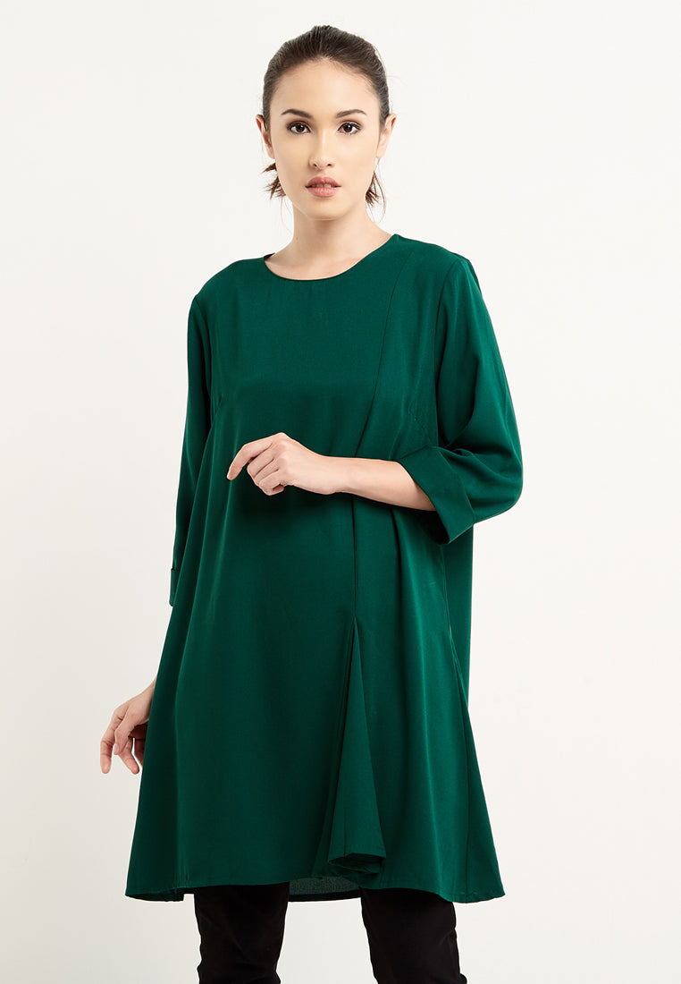 Belle Green Blanik Dress Light Grey 300010 F