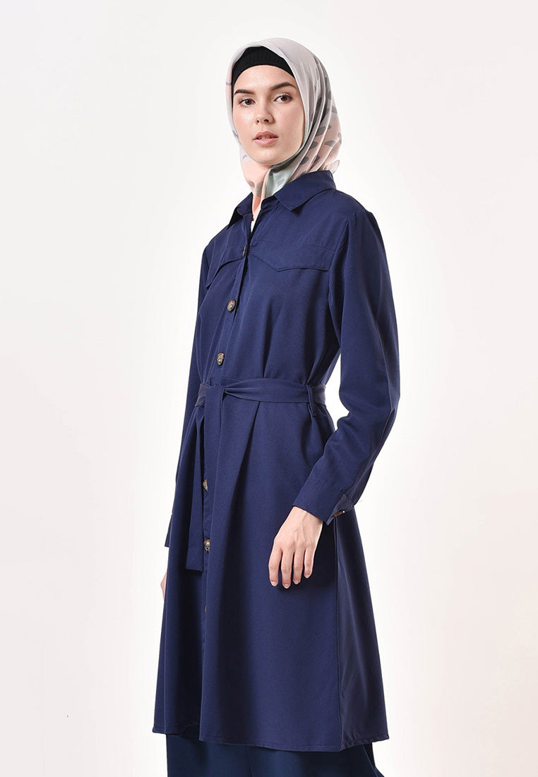 Sava Dress Navy
