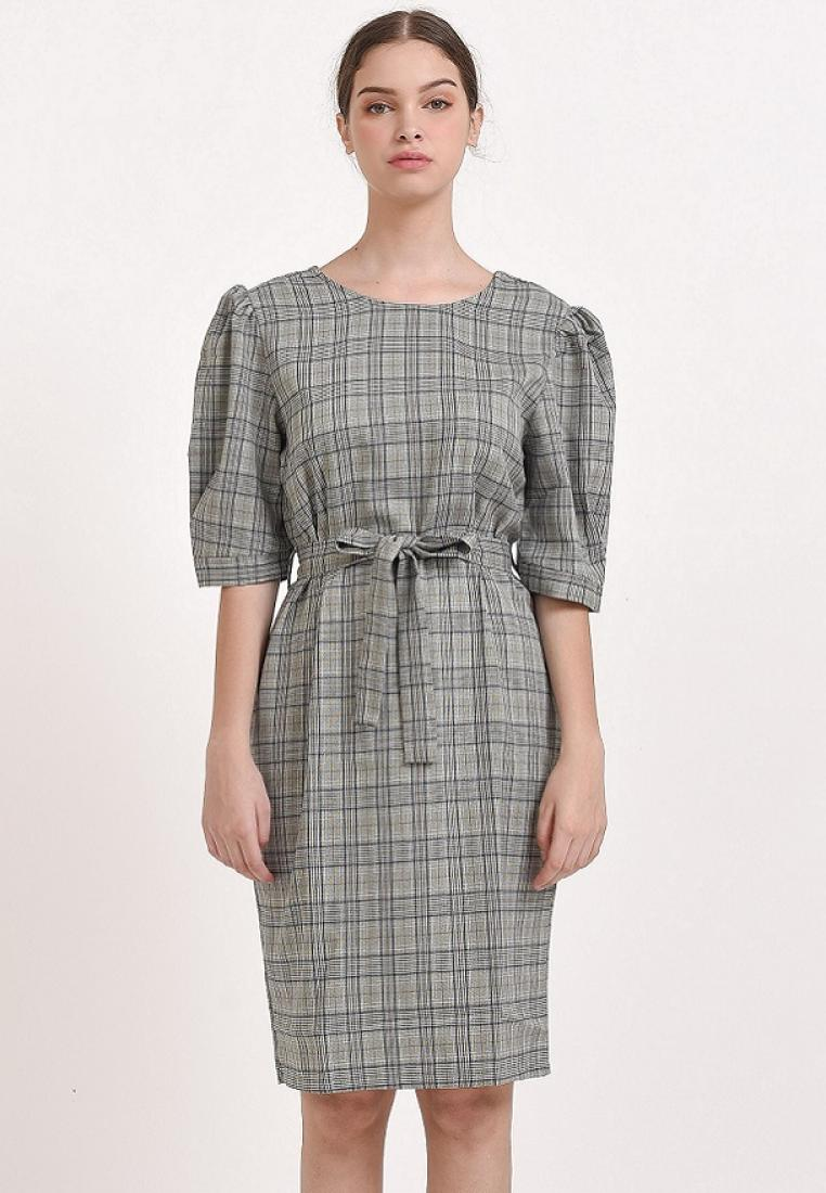Alessandra Dress Grey