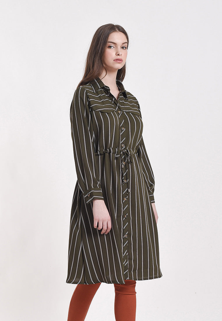 Louisa Dress Print Brown