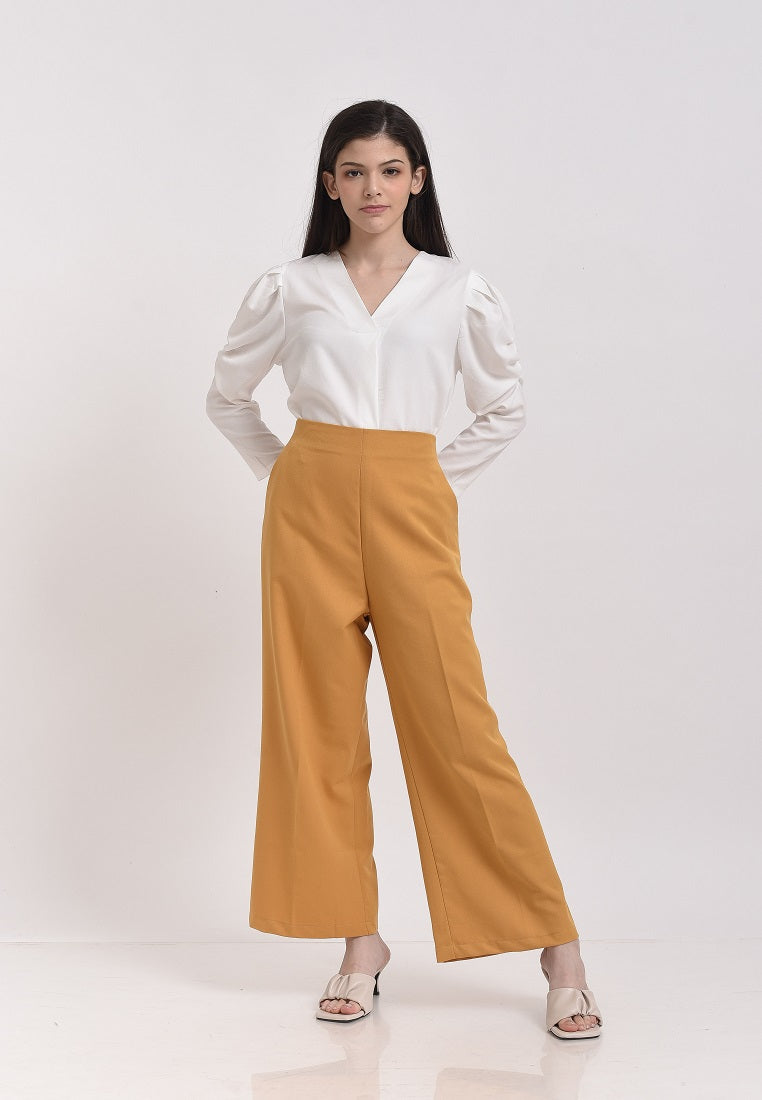 Yoel Pants Yellow