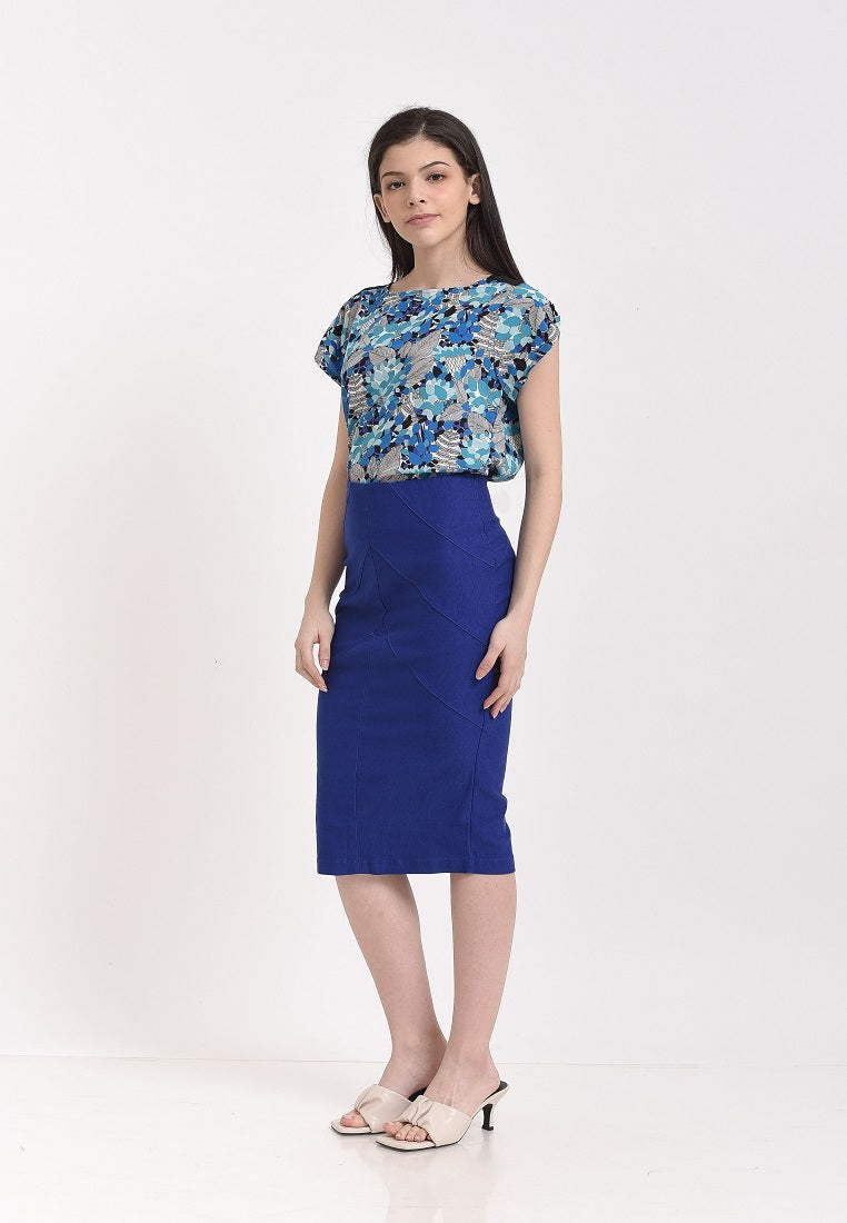 Wizzy Skirt Blue