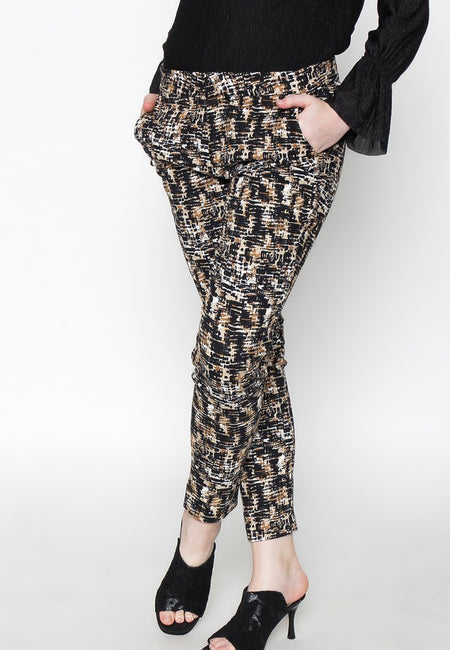 Besty Print Black